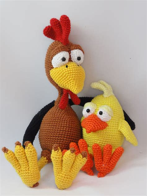 amigurumi pattern chicken package poultry paul chuck the chick amigurumi pattern