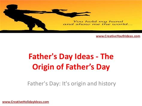 the origin of s day s day ideas the origin of father s day
