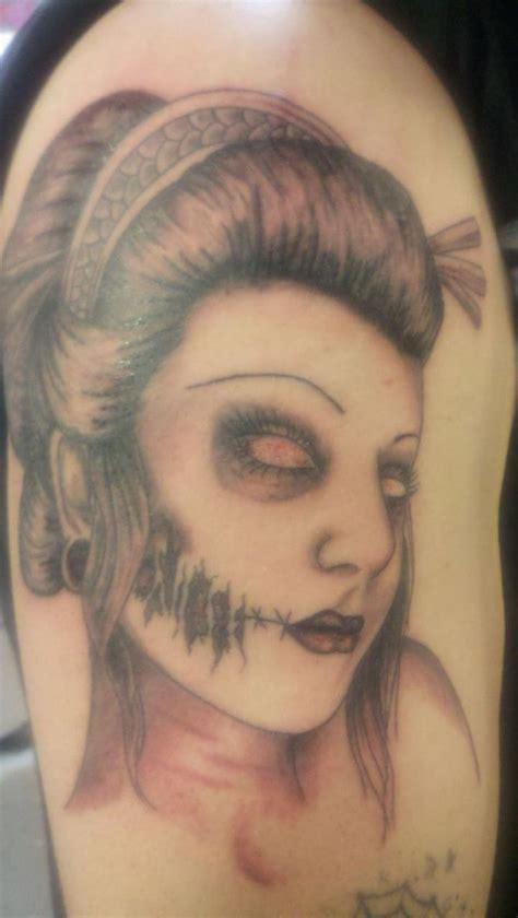 cute zombie tattoo design  guys  sheclickcom