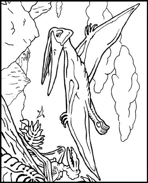 Pteranodon Crayola Co Uk Pteranodon Coloring Pages