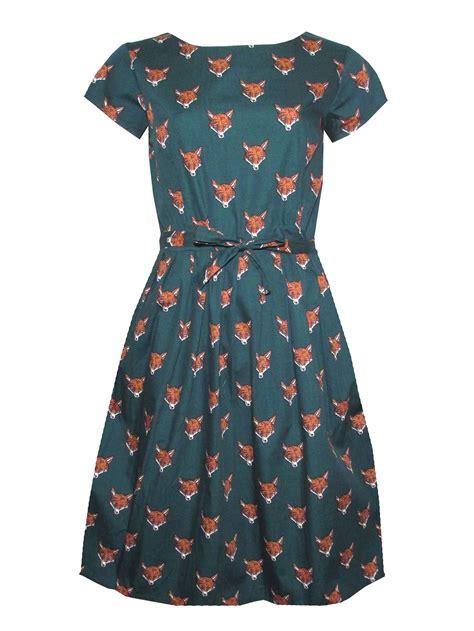 Fly Dress run fly bottle green fox dress thunder egg