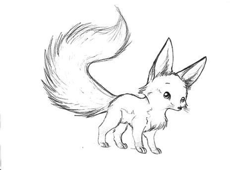 chibi fox coloring page coloring page chibi nine tails fox coloring pages