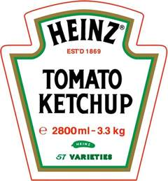 Heinz Label Template heinz tomato ketchup free vector in encapsulated