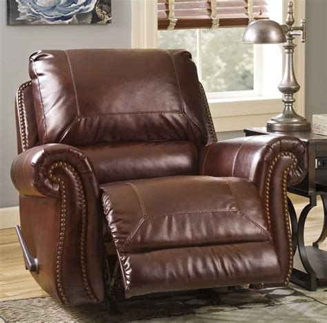 Leather Rocker Recliner by Leather Rocker Recliner 6 Jitco Furniture