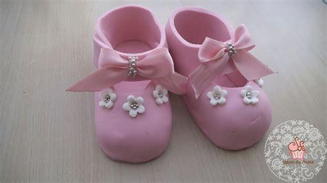 zapatos de beb 201 de fondant pasta de az 250 car diy baby