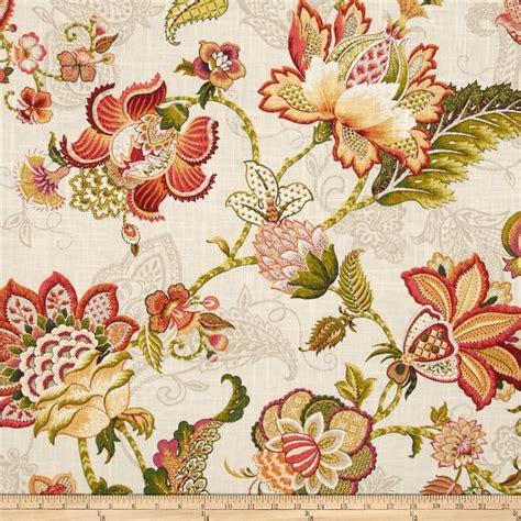 curtain fabric adelaide p kaufmann adelaide blend tigerlily from fabricdotcom