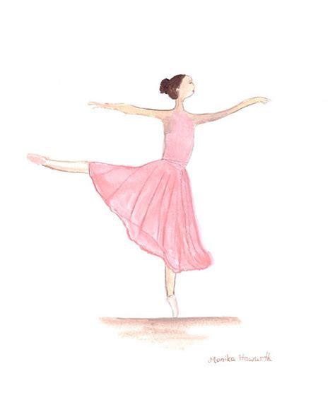 ballerines art peinture 224 laquarelle ballerine danseuse art