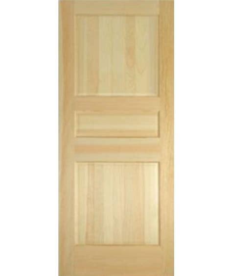 3 Panel Pine Interior Doors Description