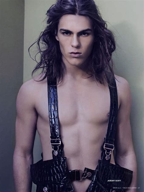 beautiful androgynous male models pinterest 1285 best androgynous models long hair images on