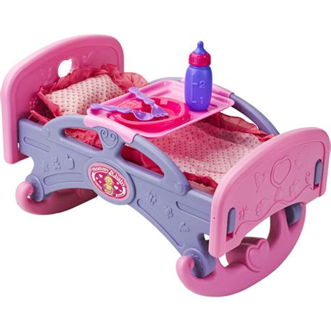 Baby Doll Beds Walmart by Badger Basket Hearts Rocking Doll Bed Walmart