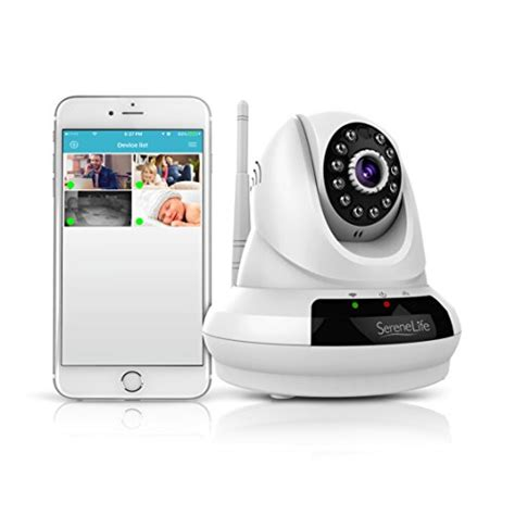 serenelife wireless home security 720p hd ip with
