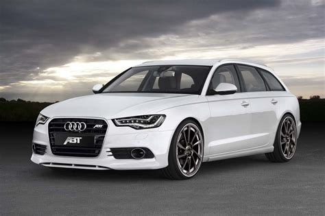 Audi A 6 Kombi by 2012 Audi A6 Avant Wagon Gets More Power Along With