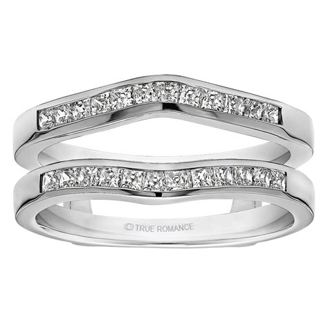 sunburst solitaire wedding ring guard sterling silver ring