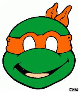 free coloring pages ninja turtle masks