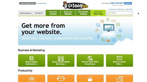 online store themes godaddy build a godaddy online store youtube