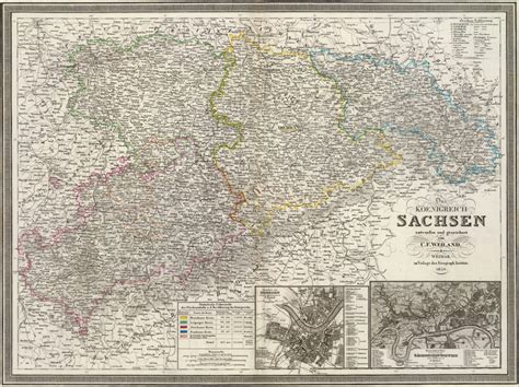 Saxony Germany Birth Records Germany Saxony Sachsen 1856 Weiland Historic Map Reprint