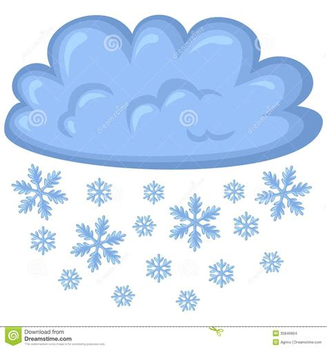 clipart neve snow weather clipart