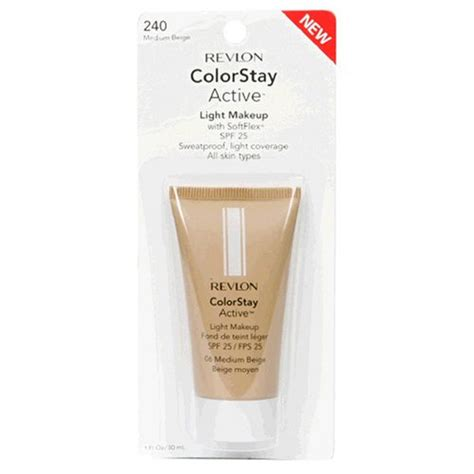 Foundation Revlon Colorstay Active Revlon Colorstay Active Light Makeup With Softflex All