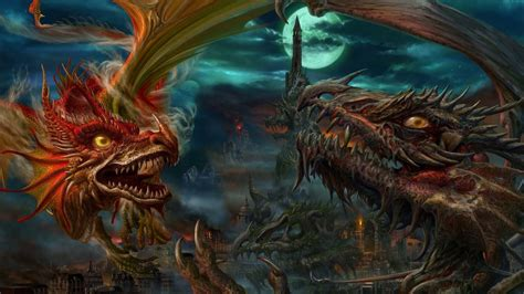 wallpaper 4k dragon awesome dragon fight 4k laptop backgrounds and wallpaper