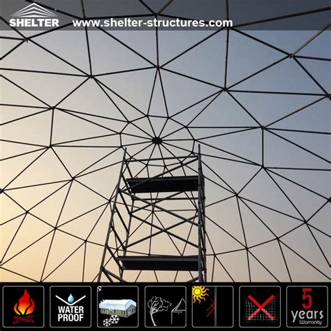 Frame Tenda Dome Rei Newly Designed Steel Frame Structures Event Dome Tenda