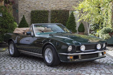 volante car aston martin v8 volante 1988 cars classic wallpaper