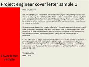 Cover Letter For Project by Engineering Project Cover Letter Images