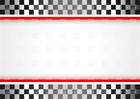 Motorsport Templates line racing background blank template vector image