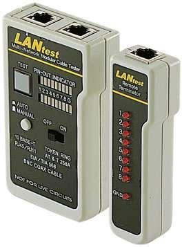 lan test lan cable test set from nu data