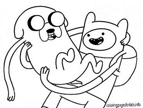 Coloring Pages Network network coloring pages adventure time 395037