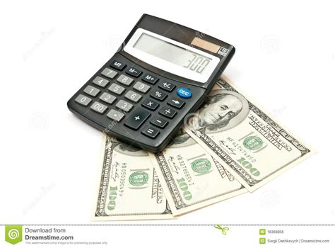 calculator dollar calculator and money stock photo image of european