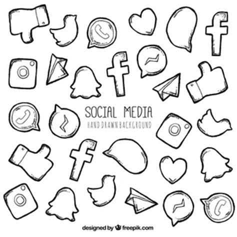 imagenes de redes sociales blanco y negro logos redes sociales fotos y vectores gratis