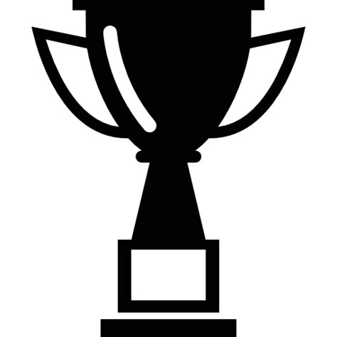 cup silhouette png trophy silhouette free sports icons