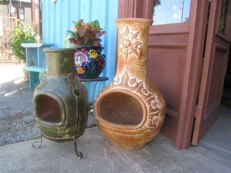 chiminea on balcony 62 best chimineas chimeneas mexican pits images on