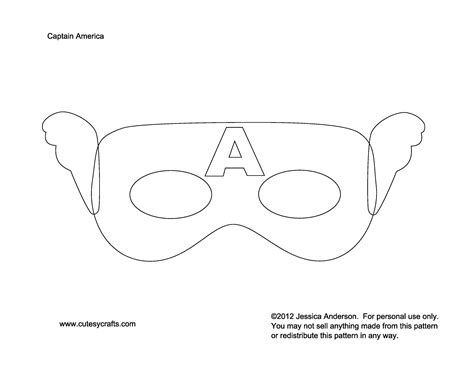 captain america helmet template captain america mask to dress up