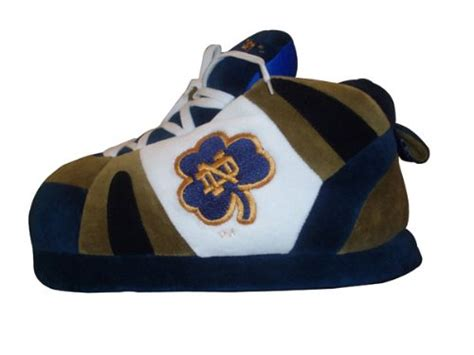 notre dame slippers notre dame fighting slippers notre dame comfy