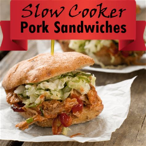 the chew: slow cooker pork picnic sandwiches recipe with
