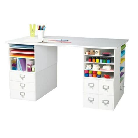 Small Craft Desk Crafts Craft Storage And Cubes On