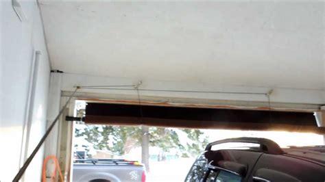 roll up tarp garage door