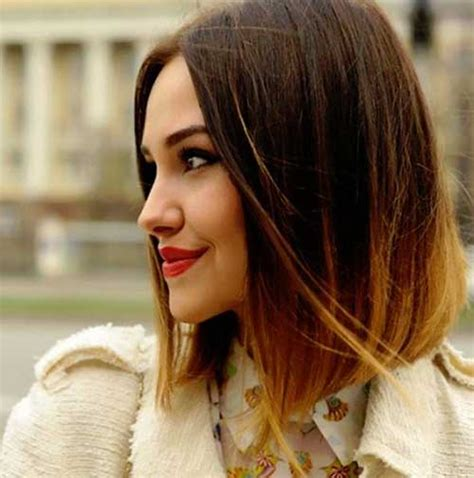 Article Best Ombre Looks For Short Hair