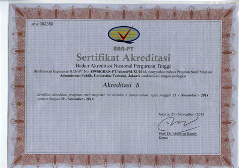Contoh Surat Ban Pt Universitas by Sertifikat Akreditasi Ti Jpg 083 Contoh Surat Akreditasi