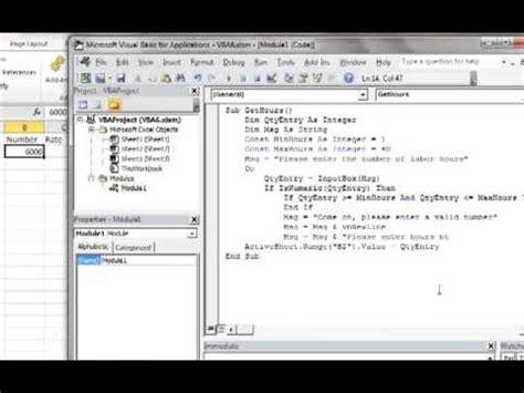 excel 2010 vba tutorial 3 hqdefault jpg