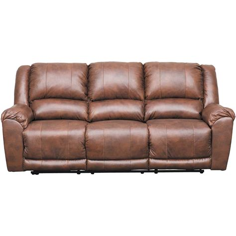 Brown Leather Sofa Recliner by Persiphone Brown Leather Reclining Sofa 6070288