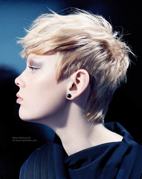 hair styles cut around the ears trendy short haircut with the hair cut around the ears and