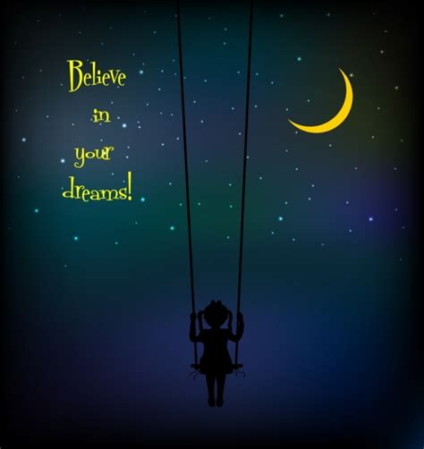 swinging videos free dreaming background swinging girl dark sky decoration free