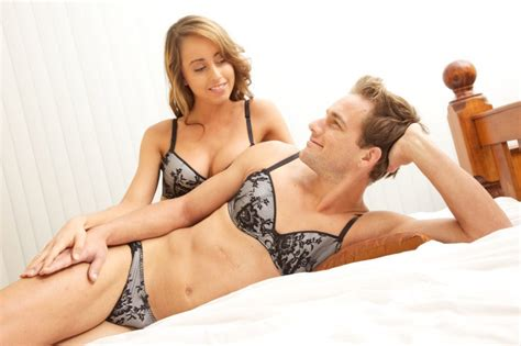 husband is now a housewife and wears female clothes lingerie for men