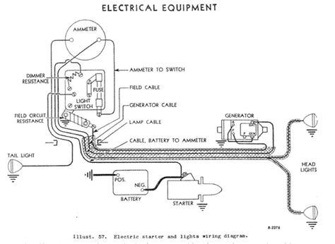 cub farmall light switch wiring diagram cub wiring diagram free