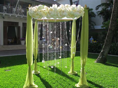 Silk upholstery fabric green likewise wedding arbor decorating ideas
