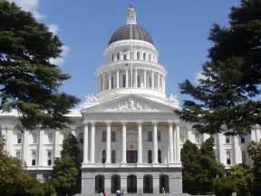california state capitol legislative government building v