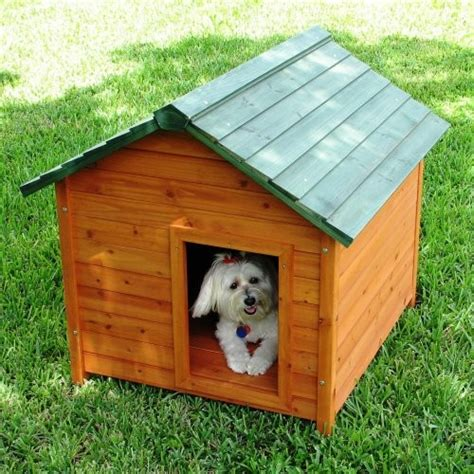 classic dog house crown pet products cedar dog house classic traditional pet supplies by hayneedle