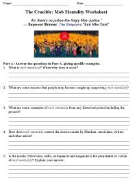 themes in the crucible worksheet 19 best images about crucible on pinterest student